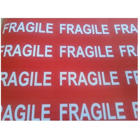Fragile Labels on A4 sheets