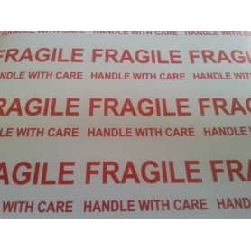 Fragile Handle with Care Labels on A4 sheets