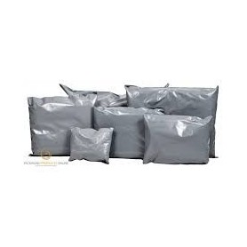 400mm x 525mm Grey Poly Mailing Bags