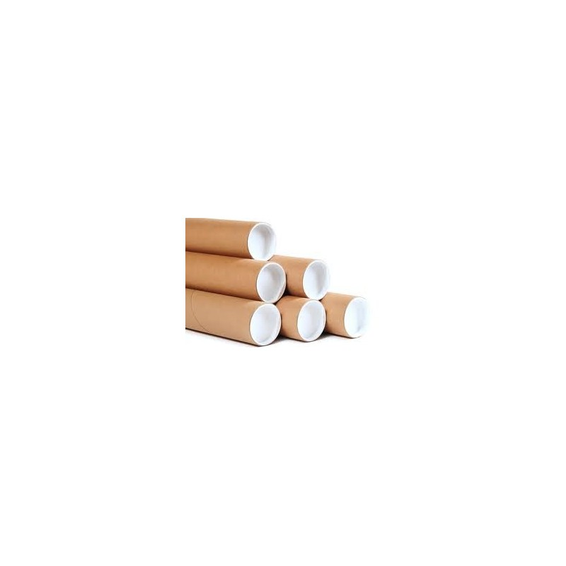 50mm x 330mm Postal Tubes