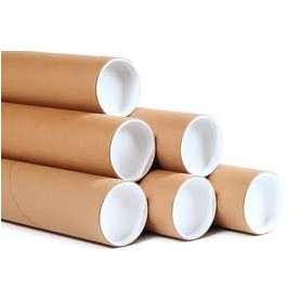50mm x 625mm Postal Tubes