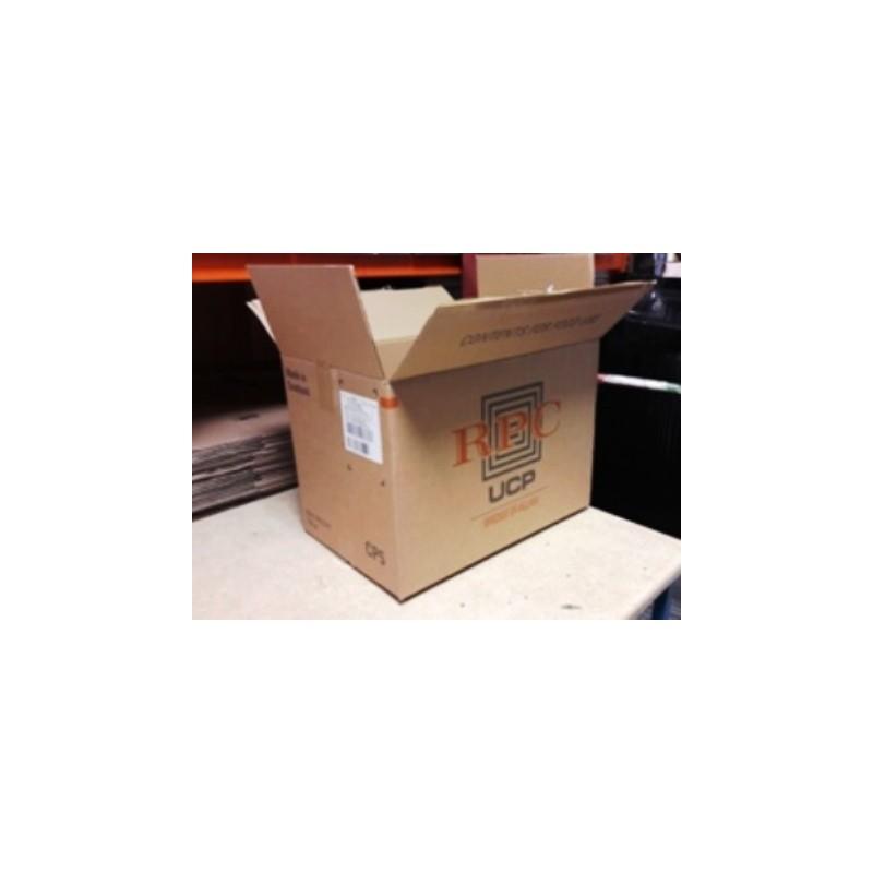490mm x 330mm x 360mm  Single Wall Cardboard Box