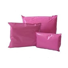 165mm x 240mm Pink Poly Mailing Bags