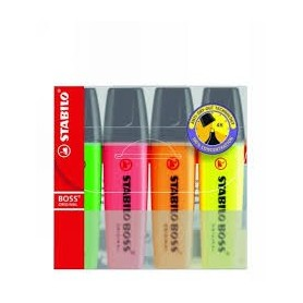Stabilo Boss Highlighters (4)